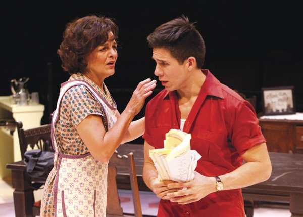 """Priscilla Lopez and Jon Rua in the Old Globe's """"dancical,"""" Somewhere - Image by Henry DiRocco"""