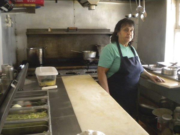Josefina, in her kitchen
