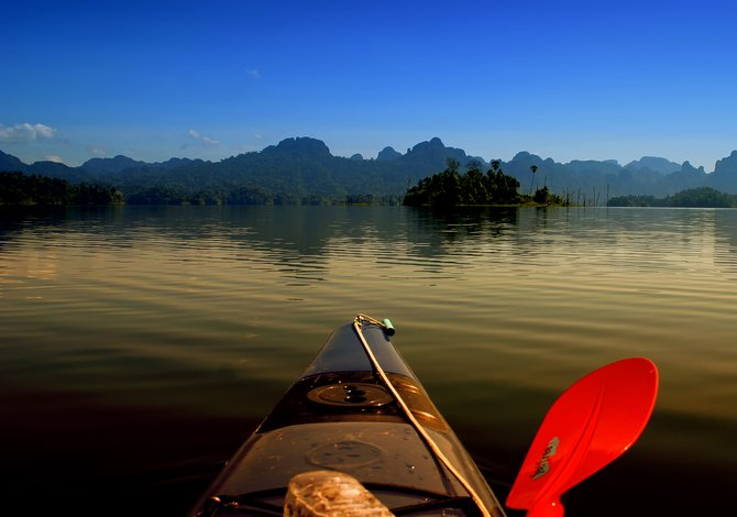 My memory of this amazing place, from a few years back. Christmas Day in Khao Sok National Park, Thailand