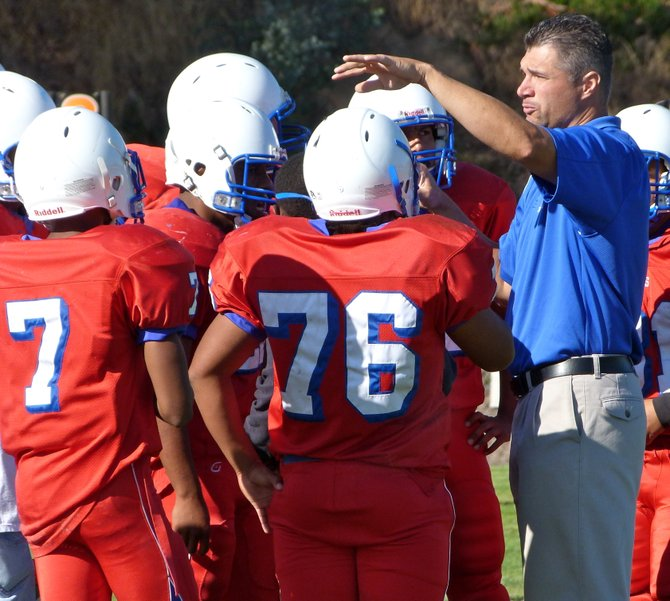 Crawford's defense talks things over during a timeout