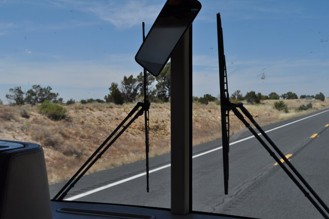 RV adventure, en route to Grand Canyon