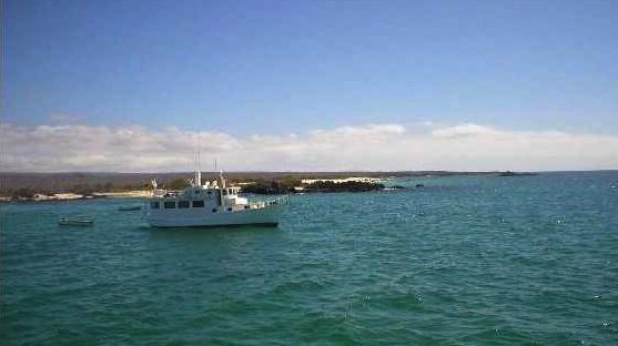 The Galápagos by boat