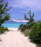 If every day were to be the same! A private island in Half Moon Cay, ...