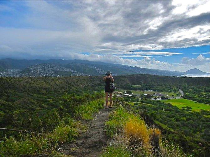 Diamondhead Crater, Oahu