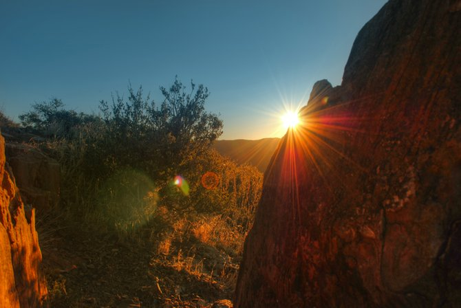 Laguna Mountains sunrise