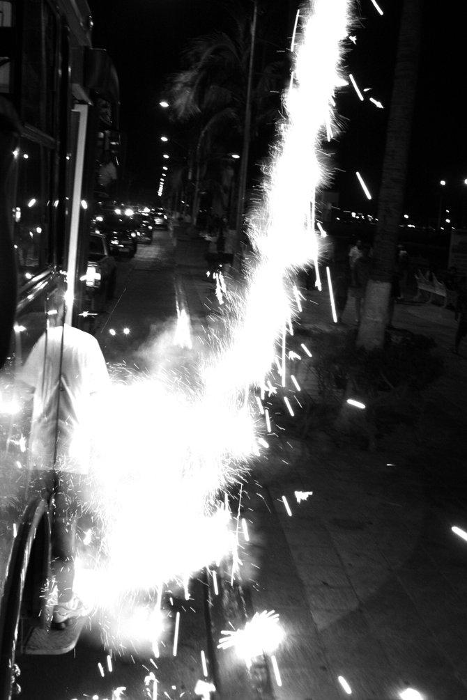 Fireworks La Paz Mexico