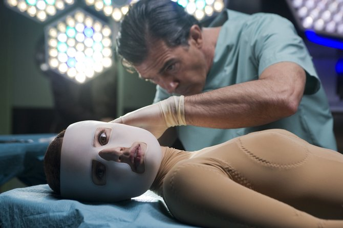 Almodóvar's The Skin I Live In only skims the creepy depths of homemade plastic surgery.
