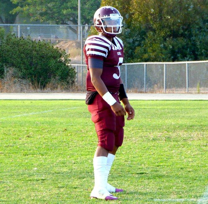 Kearny quarterback Shawn Boose