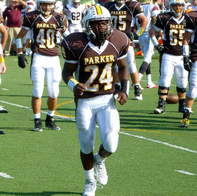Francis Parker running back Jesse Brookins