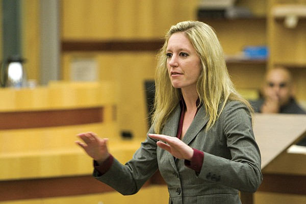 Prosecutor Laurie Hauf convinced  the jury it was grand theft dog.