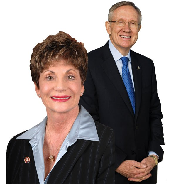 Shelley Berkley, Harry Reid