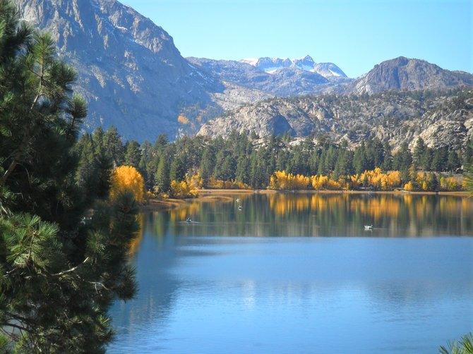 June Lake Ca., 10-22-11
