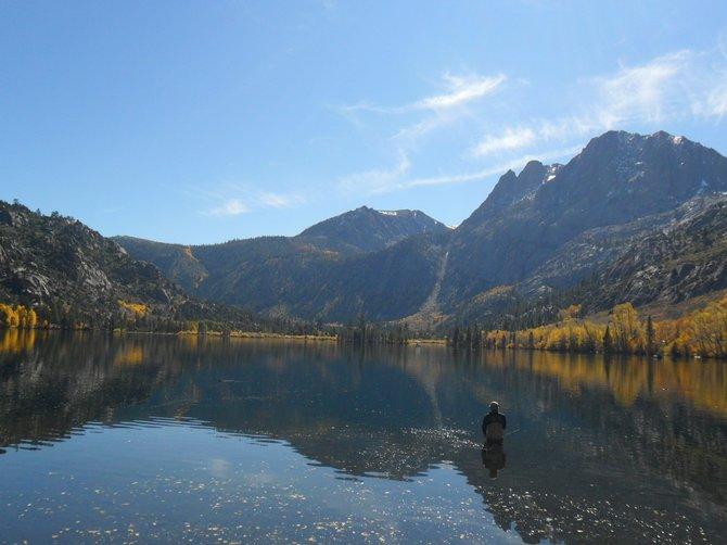 Silver Lake, Eastern Sierra Ca., 10-22-11