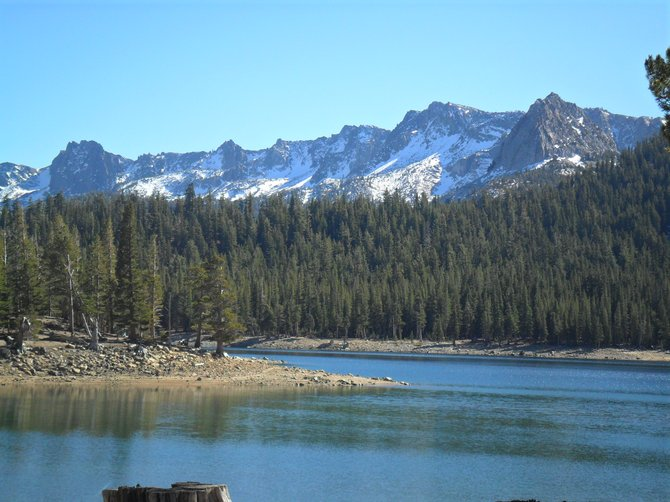 Horseshoe Lake, Mammoth Ca., 10-22-11