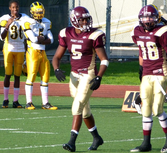 Point Loma linebacker Edmond Tucker