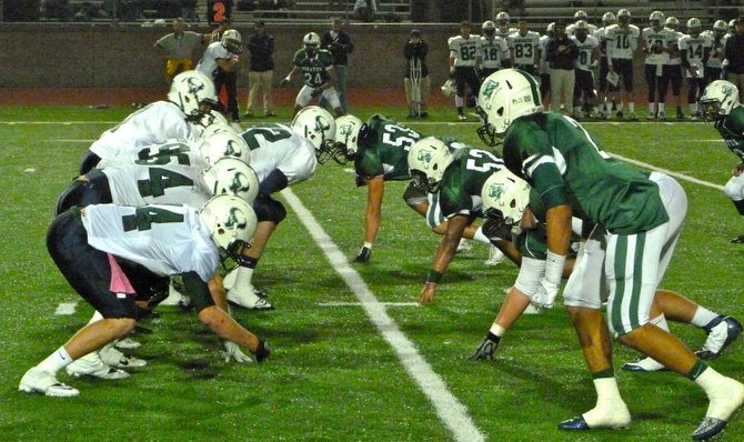 The line of scrimmage between La Costa Canyon and Oceanside