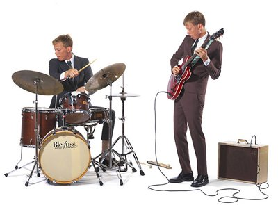 Surf-jazz siblings Mattson 2 play El Dorado downtown Tuesday night.