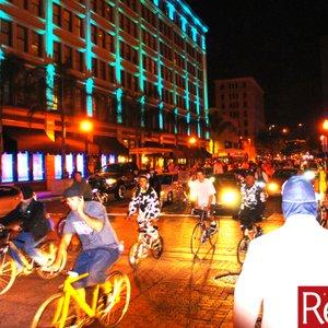 Pre Monster Bash major bike ride. Police escort and everything.