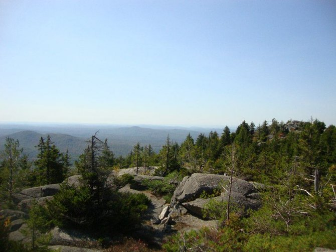 View of Mt. Monadnock in Jaffery, New Hampshire.