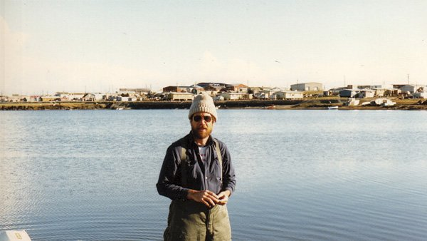 Daugherty at Barter Island, Alaska, 1983. It was the place to be in summer.
