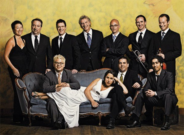 Little orchestra Pink Martini spills into the Balboa Theatre Saturday night.