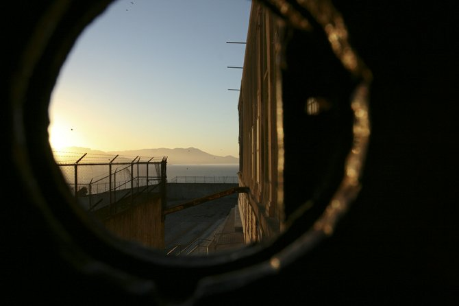 Trapped on the inside: Alcatraz Prison, San Francisco.