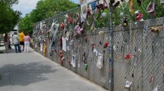 The victims' personal belongings are still hanging on the fence of the now Oklahoma City Bombing museum... www.scripca.com