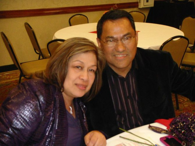 """No Christ, no everlasting life,"" says pastor David Montajes, pictured with his wife Jean."
