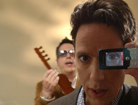 Novelty-pop duo They Might Be Giants stomp into Belly Up behind this year's Join Us.