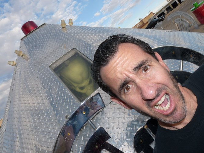 My friend loves the paranormal...maybe not -Las Vegas November 2011