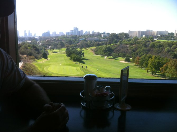 View of the city from Tobey's 19th Hole.