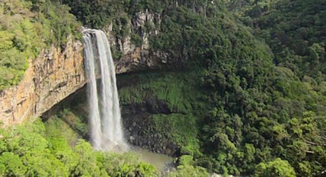 Caracol Falls in Brazil's Serra Gaúcha
