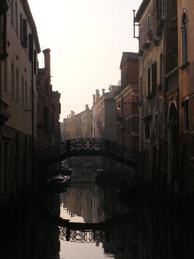 Venice, Italy Sunrise Water Reflection