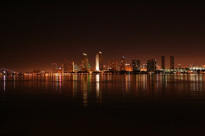 Picture of Beautiful Downtown San Diego.