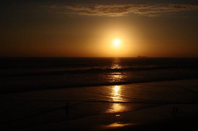Sunset at Rosarito, Mexico