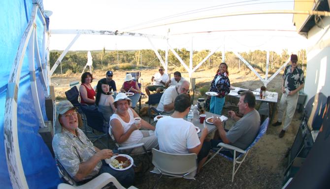Tierra Del Soul Observatory BBQ!
