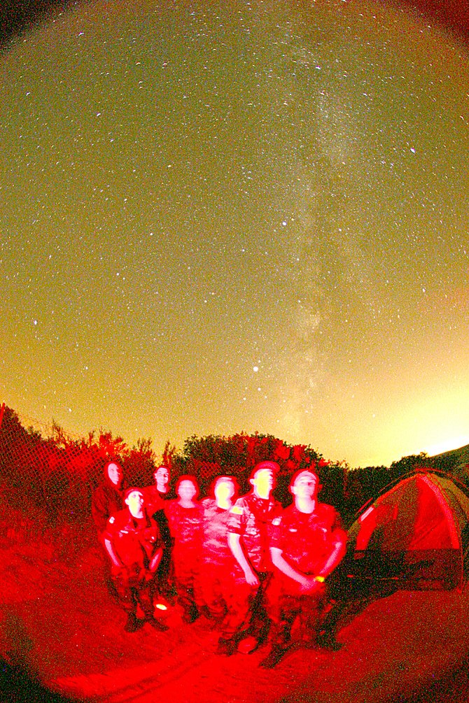 TDS night sky star party...