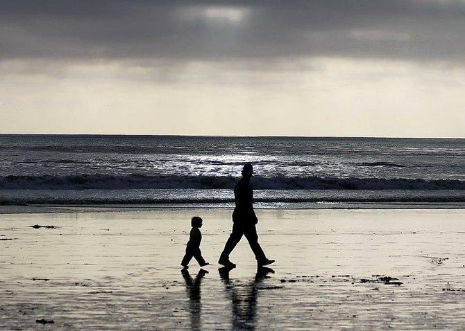 Walking in Daddy's Footsteps