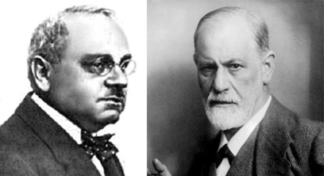 "Steve Erie uses the oedipal theories Sigmund Freud (right) to describe San Diego boosters' ""edifice complex.""