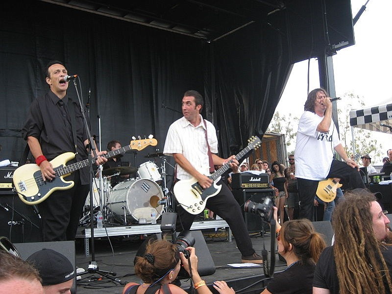 SoCal skate-punk perennials the Adolescents will stoke the pit at Brick by Brick.