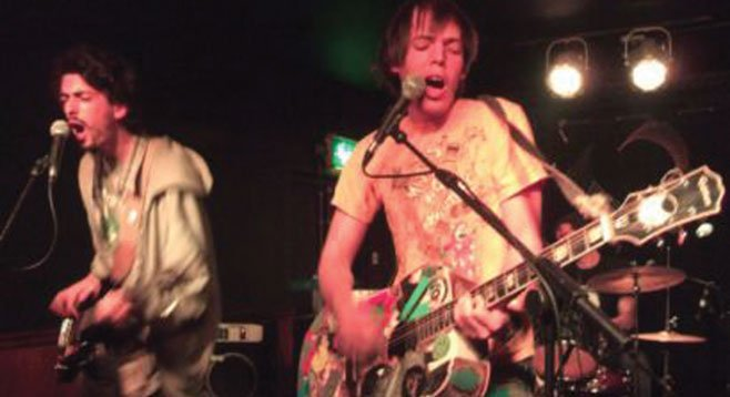 Soda Bar sets up anti-folkies Jeffrey Lewis & the Junkyard Thursday night. They'll play an early in-store at M-Theory.
