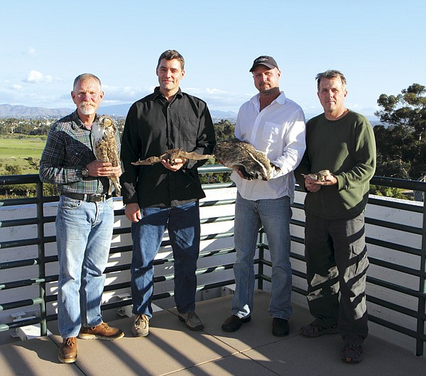 Phil Unitt, John Rebman, Scott Tremor, and Brad Hollingsworth: The four amigos, a new generation of pro-active scientists