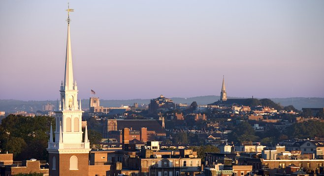 A view of Beantown