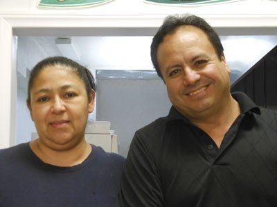 Lourdes and her husband Guillermo opened La Perla in May.