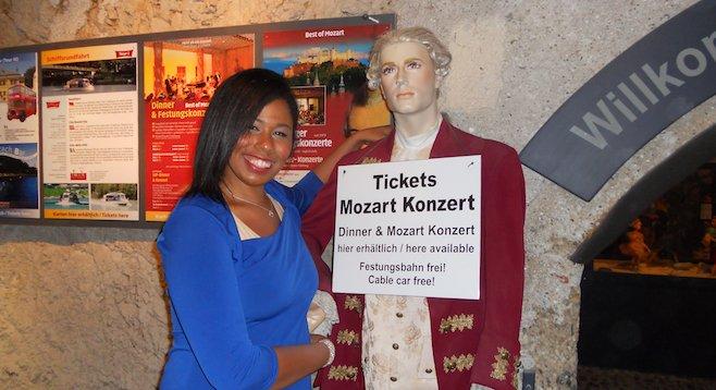Meeting Salzburg's hometown hero