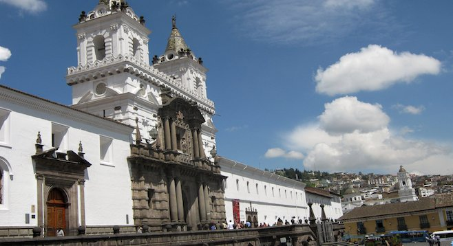 Ecuador's religious tradition is evident in its colonial architecture