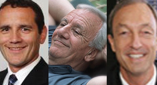 Robert Snigaroff, Mike Stolper, and Neil Hokanson