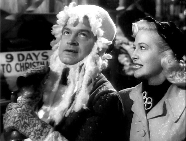 "Bob Hope and Marilyn Maxwell perform ""Silver Bells"" in 