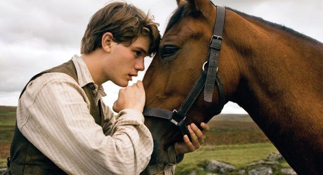 In War Horse, the animal's improbable survival is threaded through human-interest stories.
