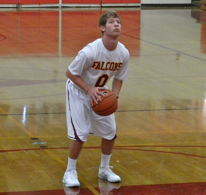 Torrey Pines guard Sean Murray attempts a free throw
